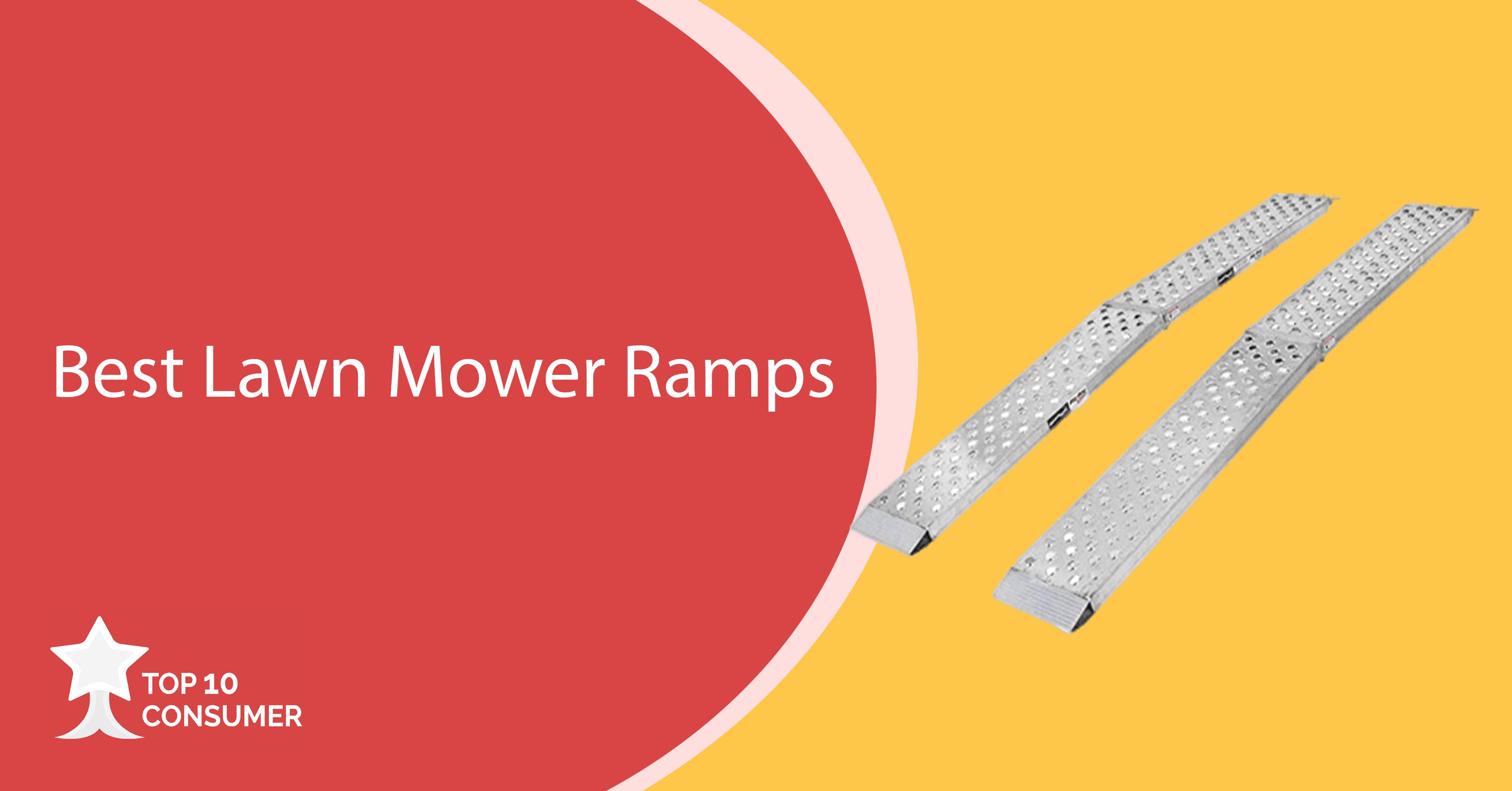 Best Lawn Mower Ramps