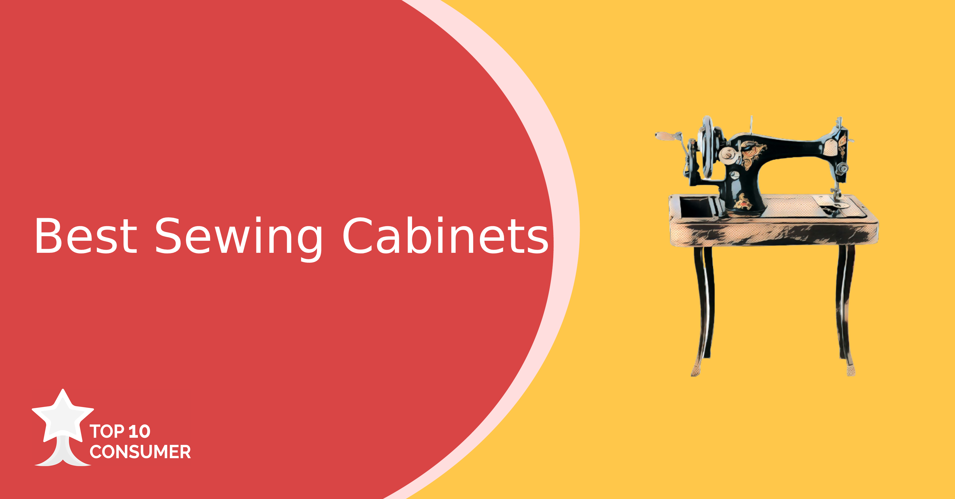 best sewing cabinets