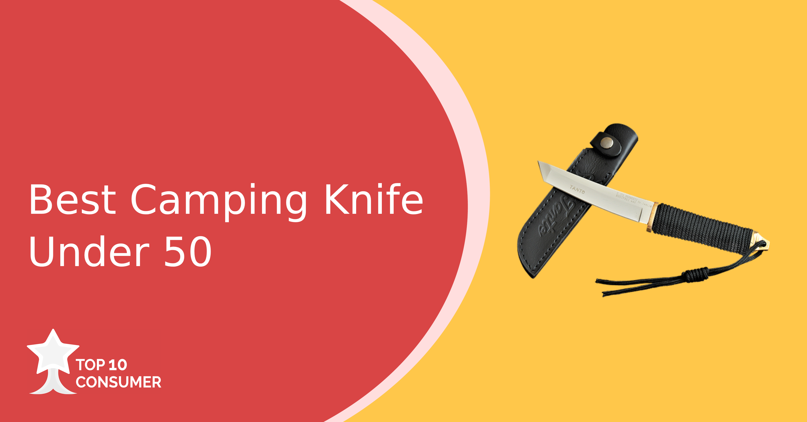 Best camping knife under 50