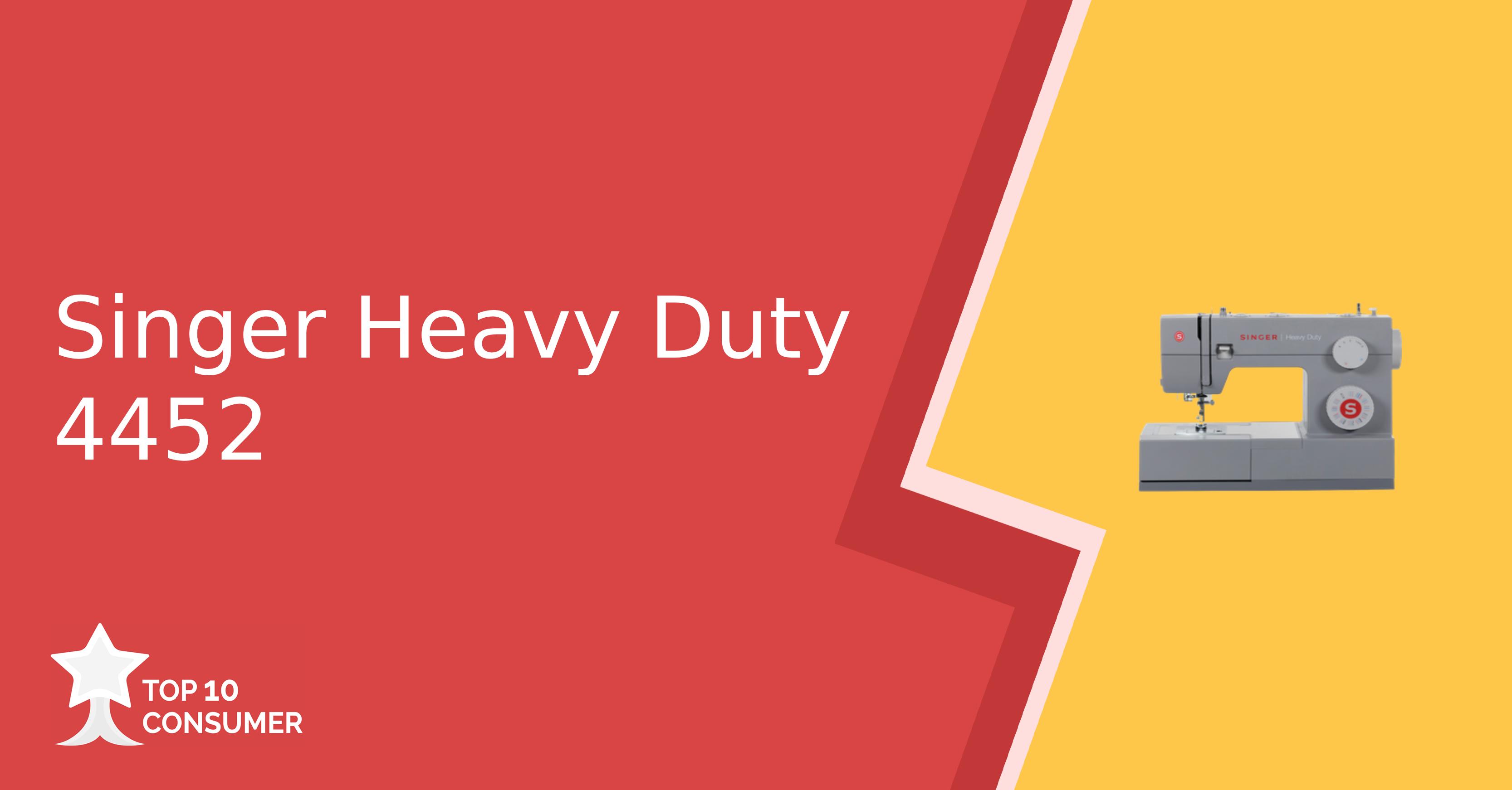 Singer Heavy Duty 4452