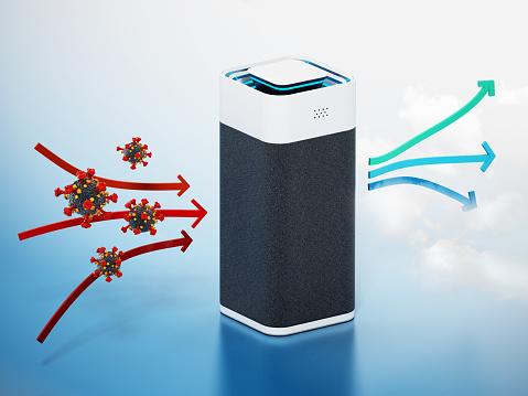 How does an air purifier work?