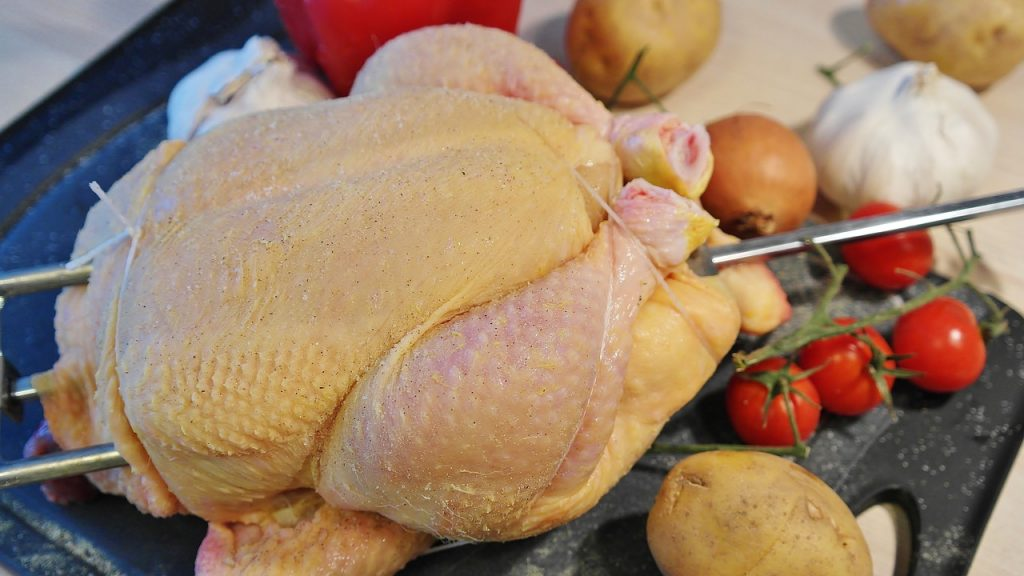 Step One: Make Sure the Chicken Fits into your Pressure Cooker