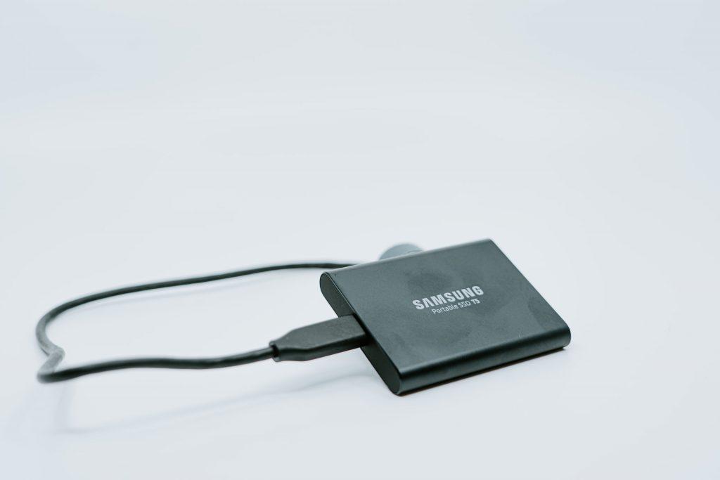 A Samsung adapter.
