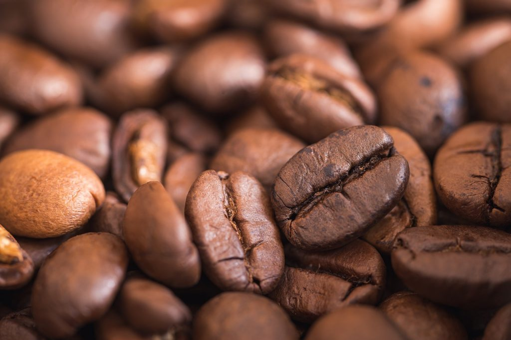 Lots of coffee beans.