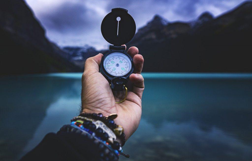 Phone Compasses Versus Traditional Compasses