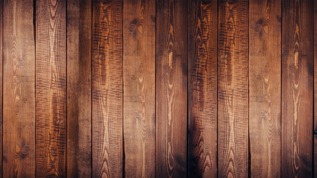 A wood background.