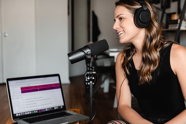 Headphones Let You Monitor the Audio of Your Podcast