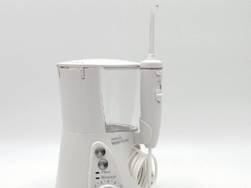 a white waterpik