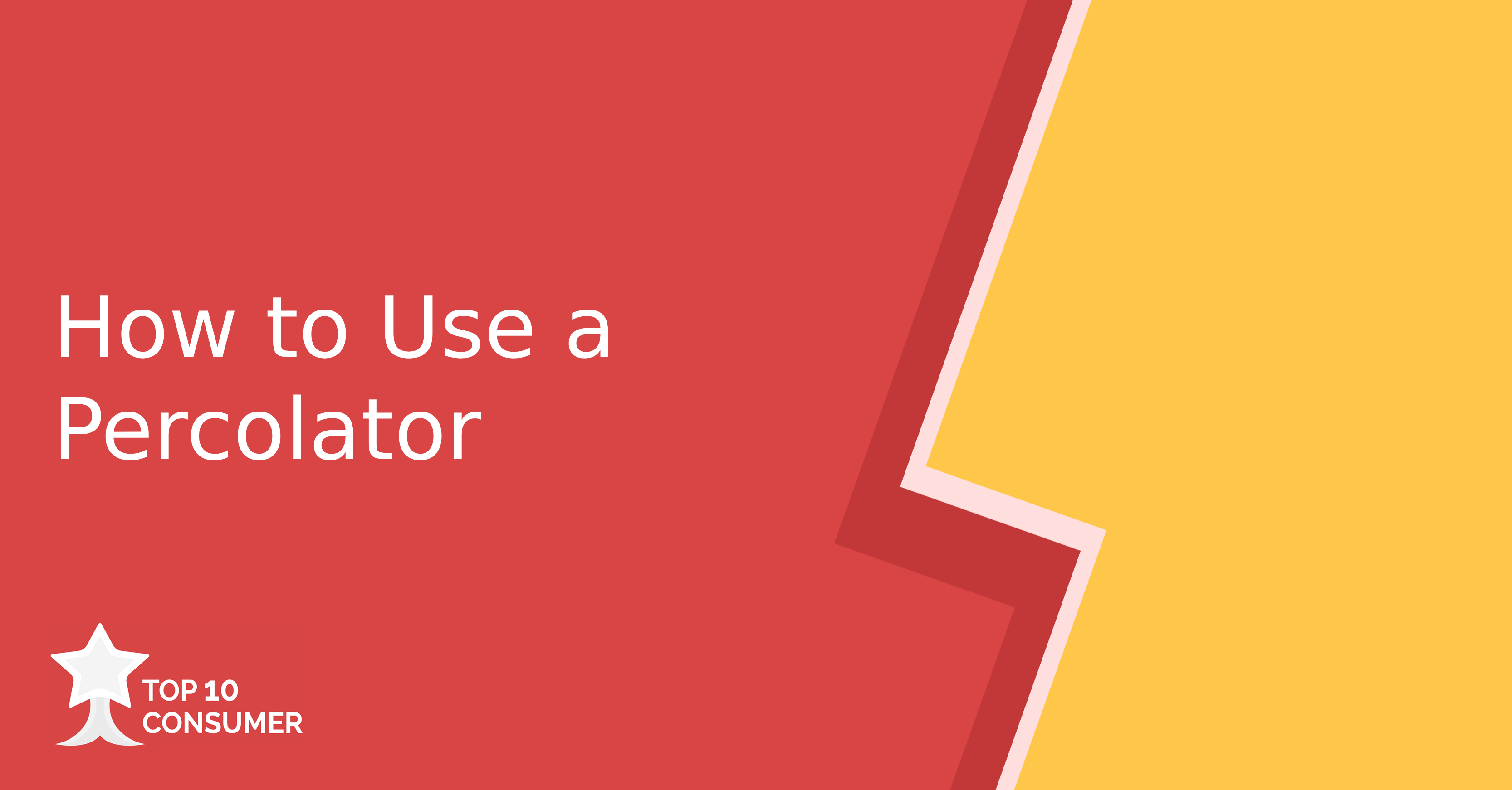 How to Use a Percolator