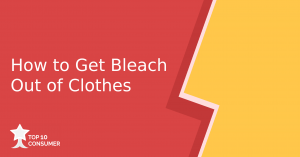 How to Get Bleach out of Clothes