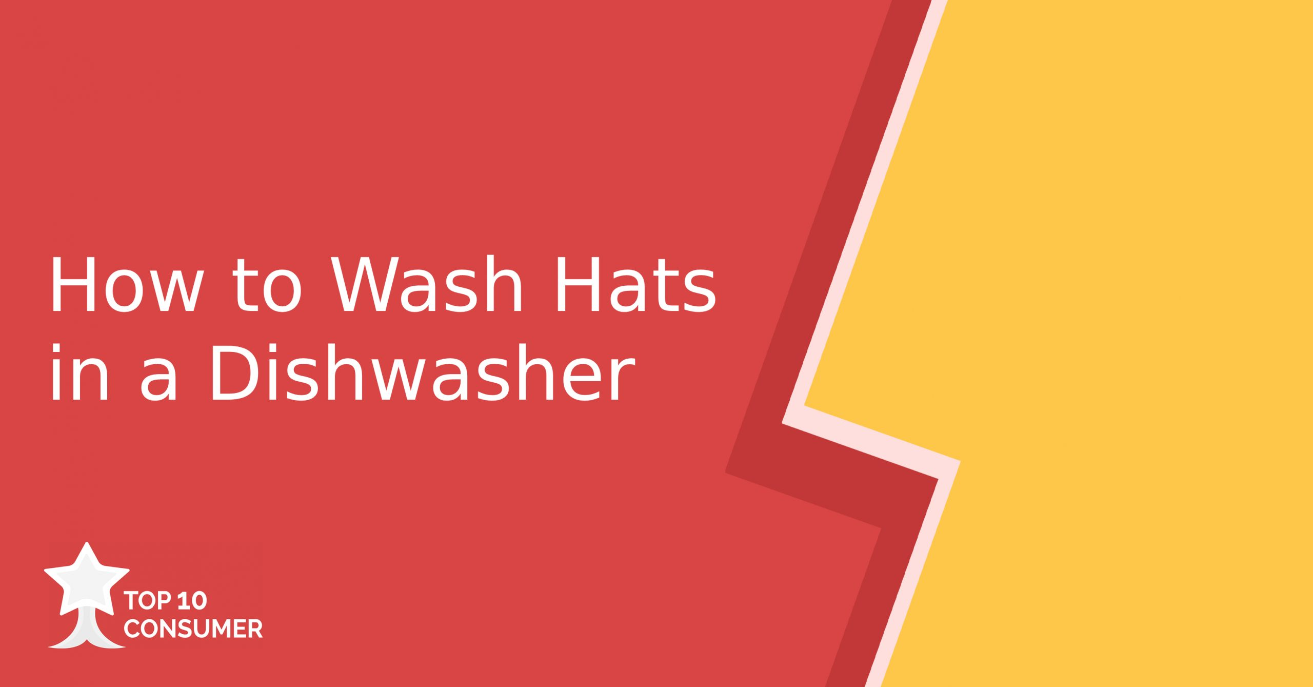 How to Wash Hats in a Dishwasher
