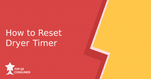how to reset dryer timer