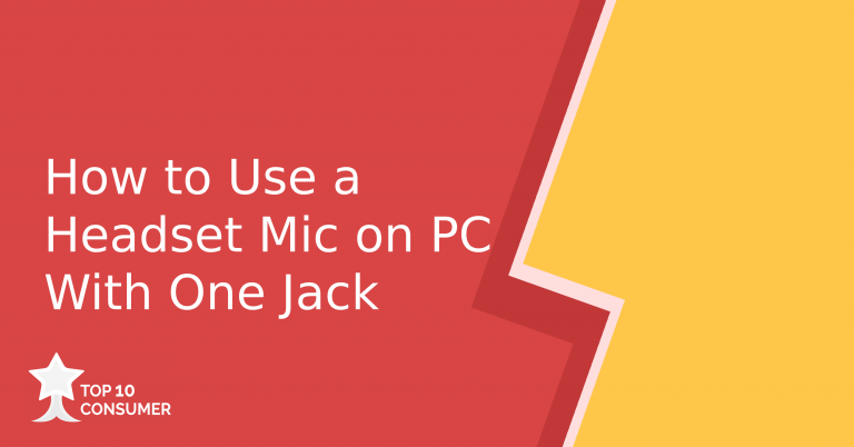 How to use a headset mic on pc with one jack